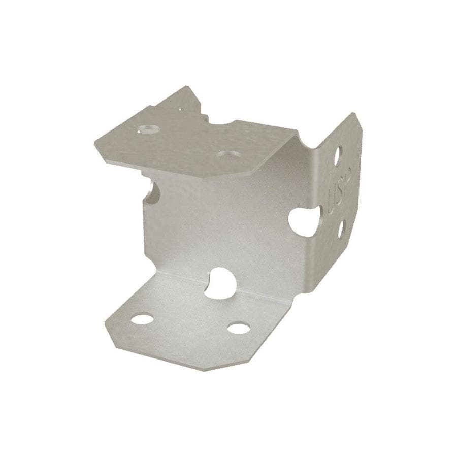 USP Double 90-Degree Triple Zinc Bracket