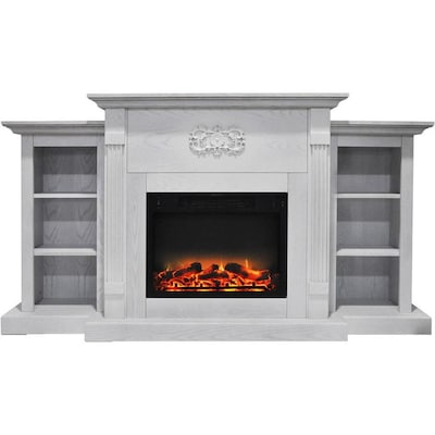 Free Standing Electric Fireplaces At Lowes Com