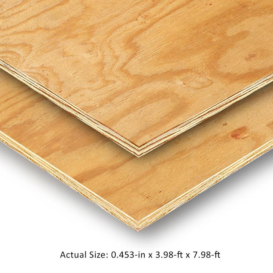 Plytanium 15/32 CAT PS1-09 Pine Sanded Plywood, Application as 4 x 8