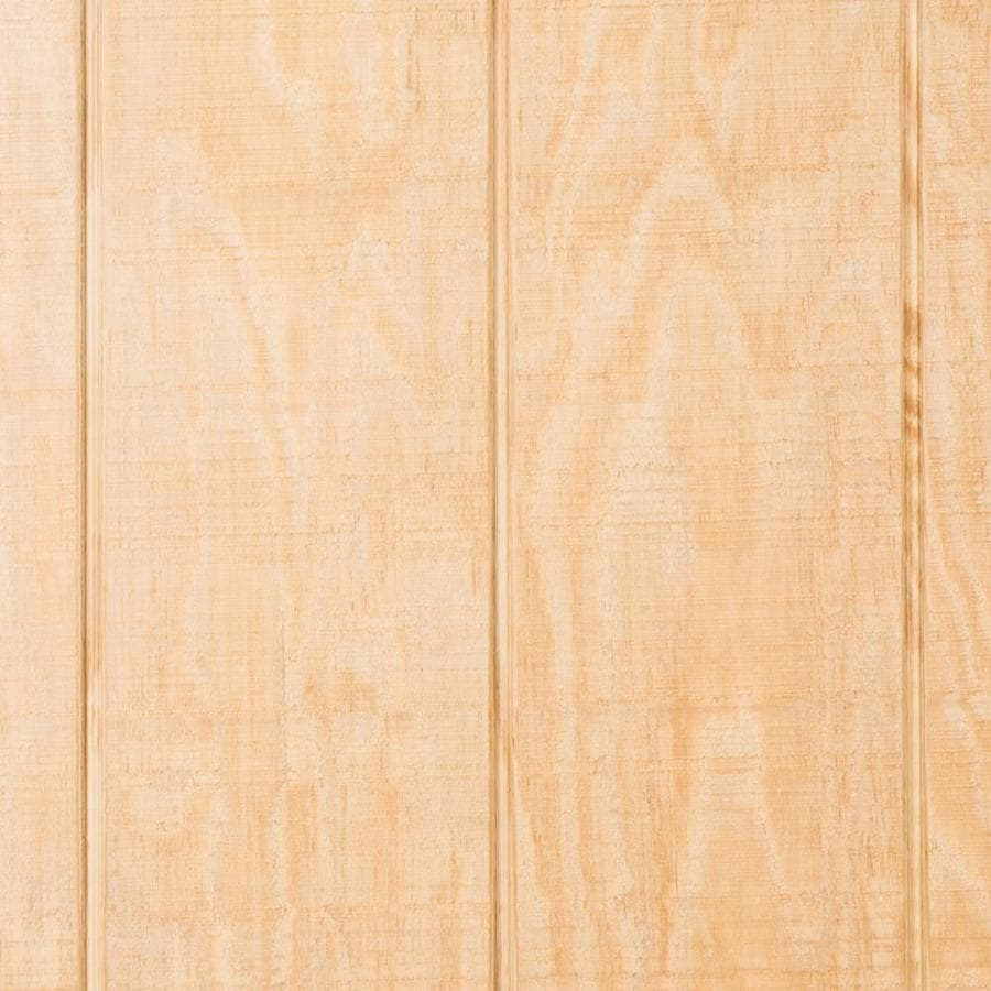 Plytanium (Common: 0.594-in x 48-in x 96-in; Actual: 0.563-in x 47.875-in x 95.875-in) T1-11 Natural/Rough Sawn SYP Plywood Untreated Wood Siding Panel