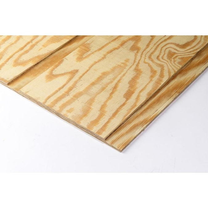Plytanium Natural Rough Sawn Syp Plywood Panel Siding Common 0 59 In X 48 In X 96 In Actual 0 578 In X 47 875 In X 95 875 In In The Wood Siding Panels Department At Lowes Com