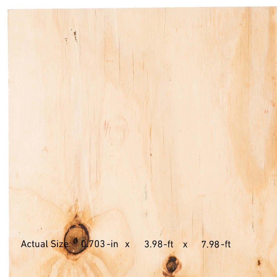 Display Product Reviews For 23/32 CAT PS1 09 Pine Plywood Sheathing,  Application