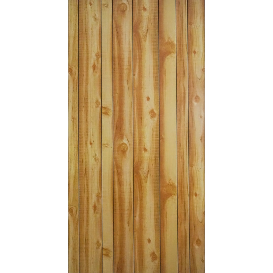 47.9687-in x 7.997-ft Smooth Western Vista New Cut Cedar MDF Wall Panel