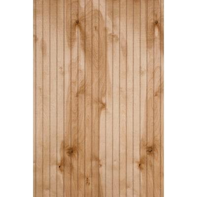 47 9687 In X 7 997 Ft Beaded Ann Arbor Birch Wood Wall Panel