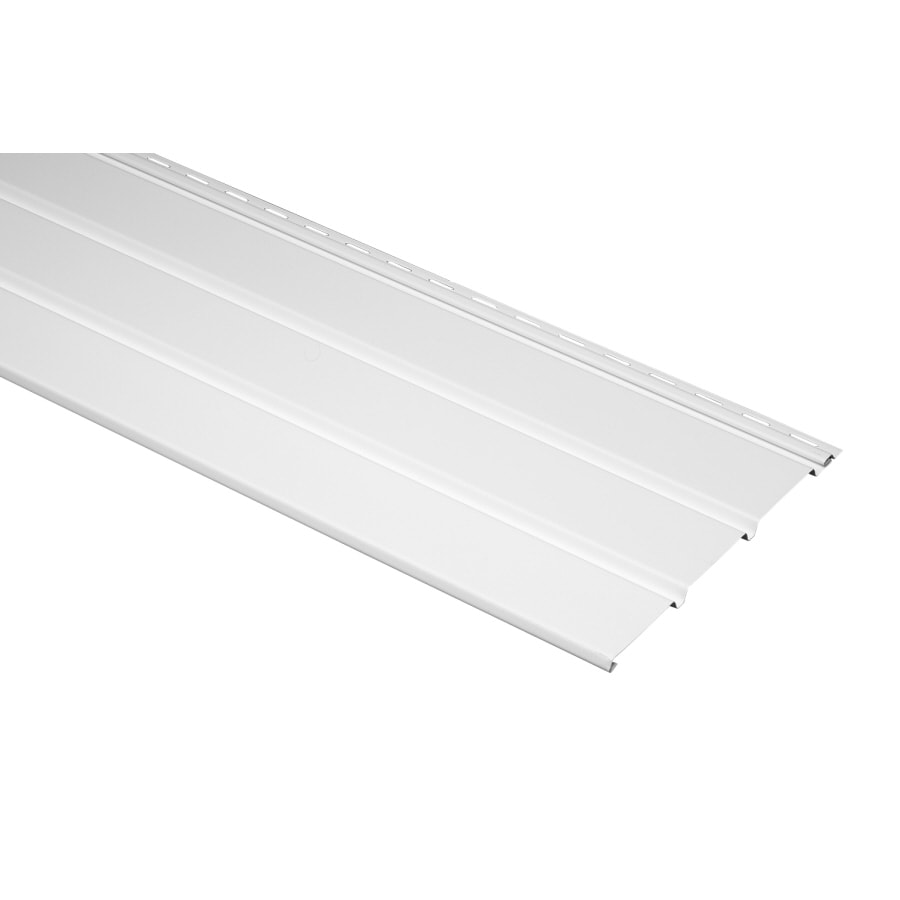 10-in x 143.75-in White Soffit