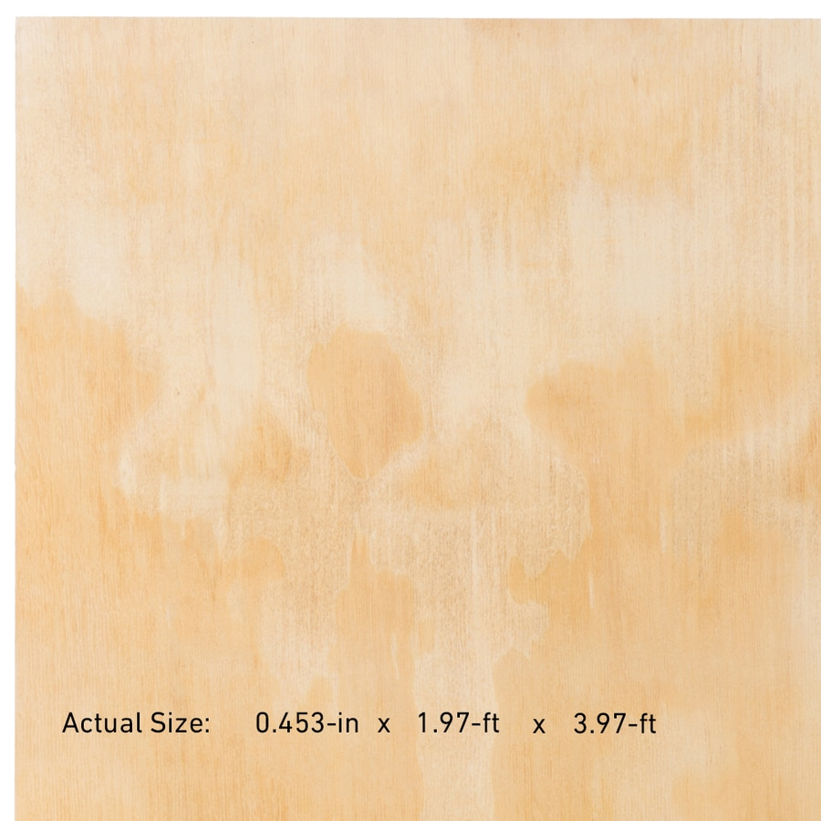 Plytanium 15/32-in Common Pine Sanded Plywood, Application as 2 x 4