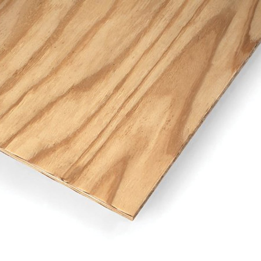 Plytanium Natural Rough Sawn SYP Plywood Untreated Wood Siding Panel (Common: 0.34-in x 48-in x 96-in; Actual: 0.322-in x 47.875-in x 95.875-in)