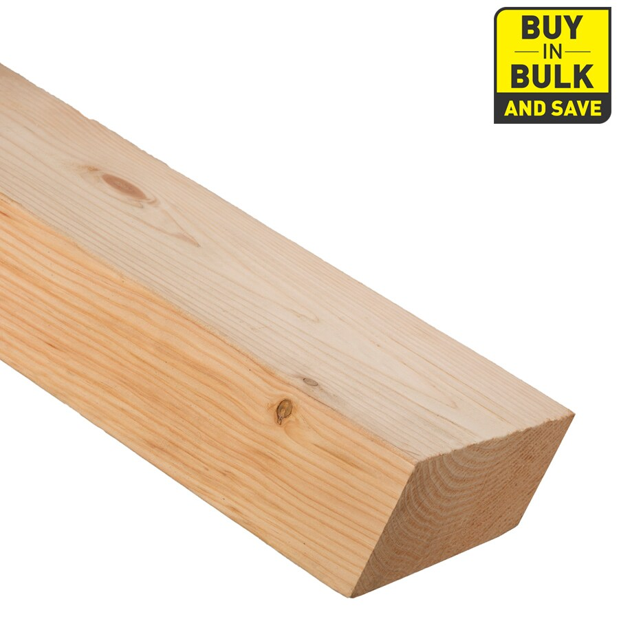 (Common: 4-in x 10-in x 10-ft; Actual: 3.562-in x 9.5-in x 10-ft) Lumber