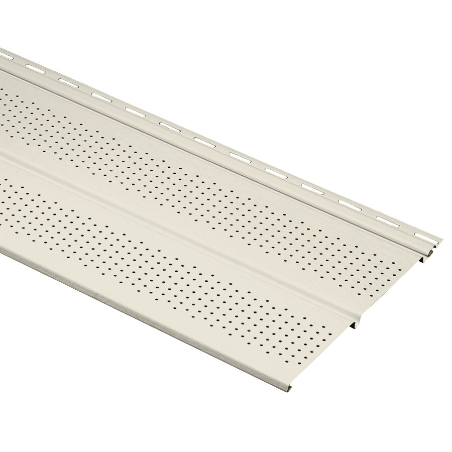 10-in x 144-in Pearl Soffit
