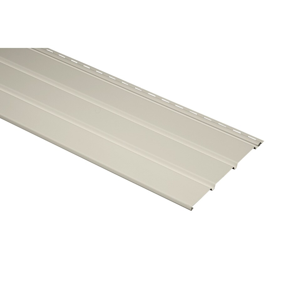 12-in x 143.75-in Almond Vinyl Solid Soffit