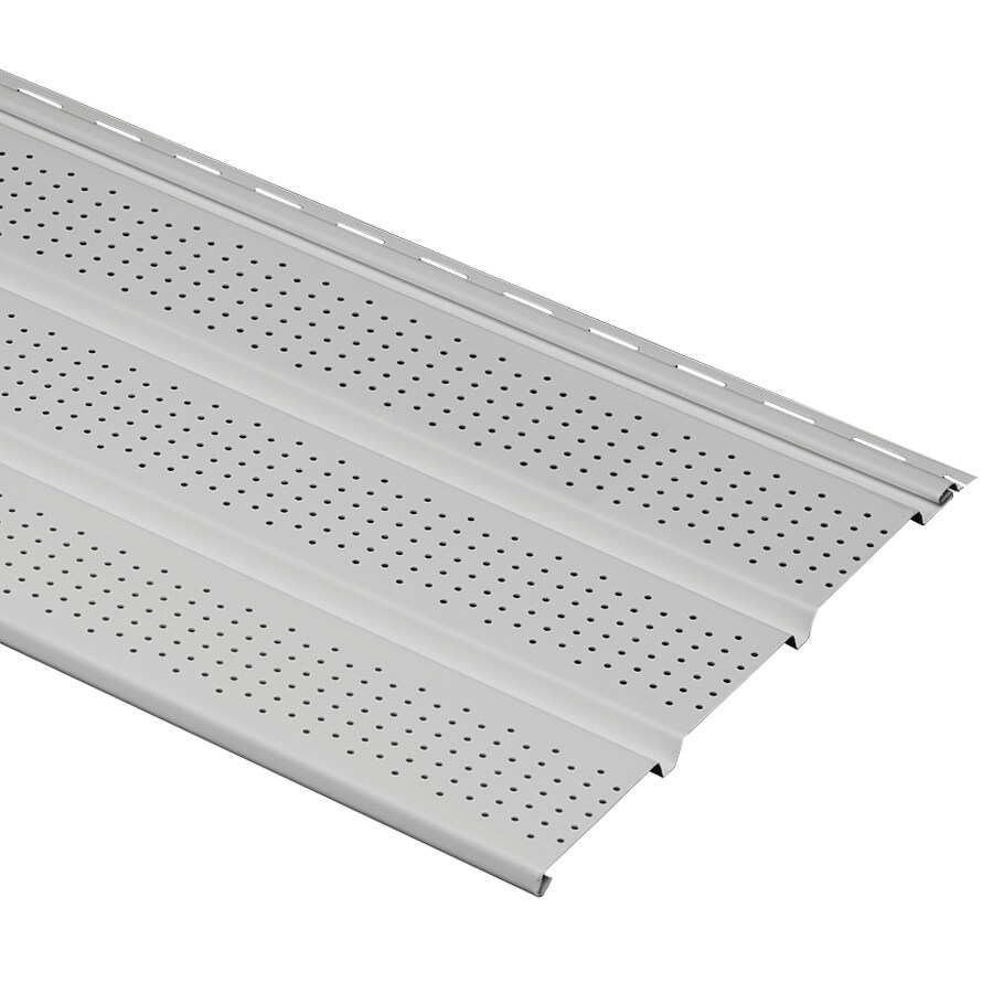12-in x 143.75-in Gray Soffit