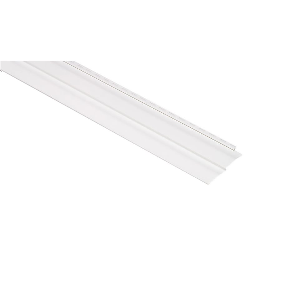 Georgia-Pacific Vision Pro Vinyl Siding Panel Double 4 Dutch Lap White 8-in x 150-in