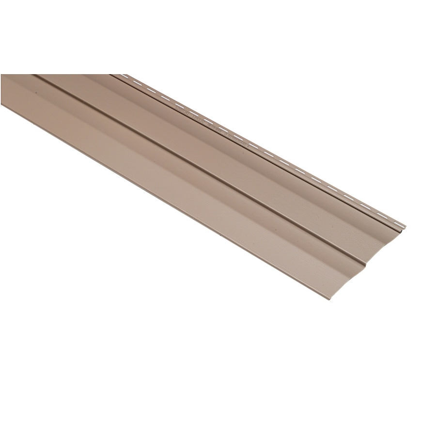 Georgia-Pacific Vision Pro Vinyl Siding Panel Double 5 Dutch Lap Clay 10-in x 144-in