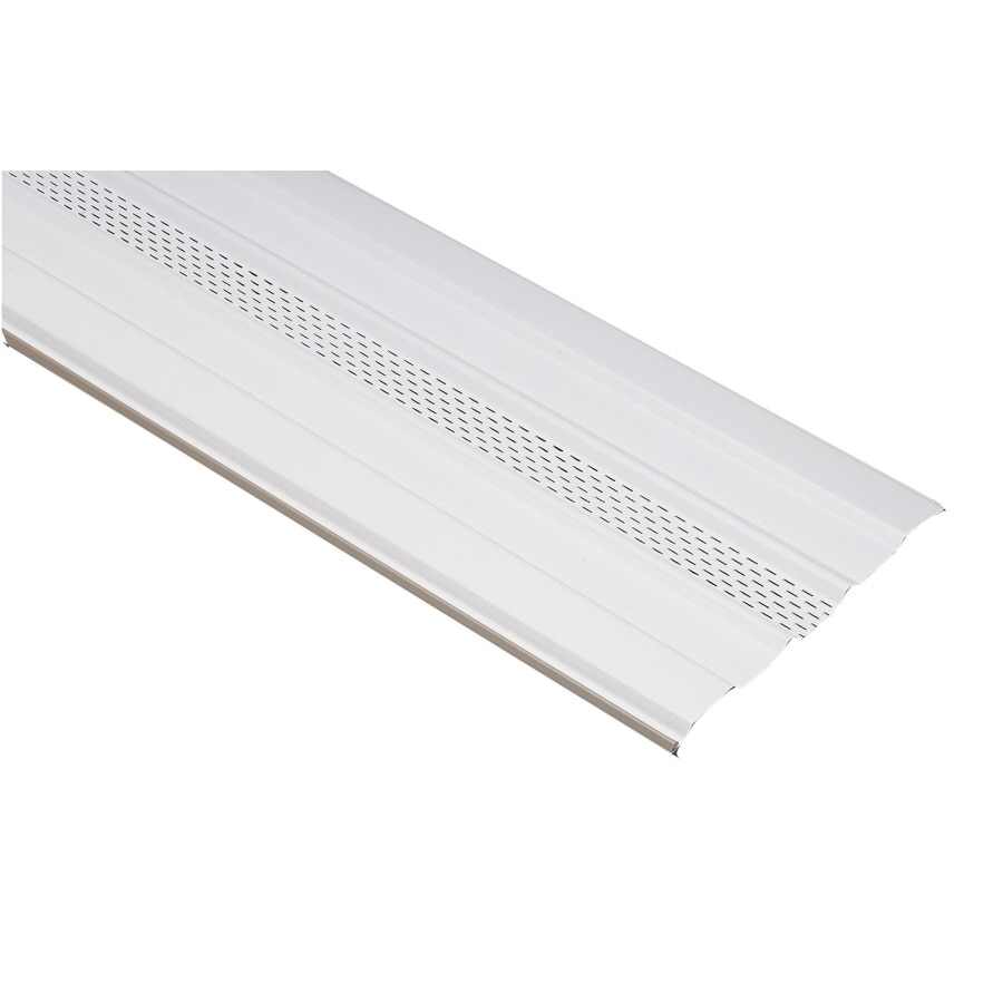 16-in x 7.9791-ft White Vinyl Skirting Panel