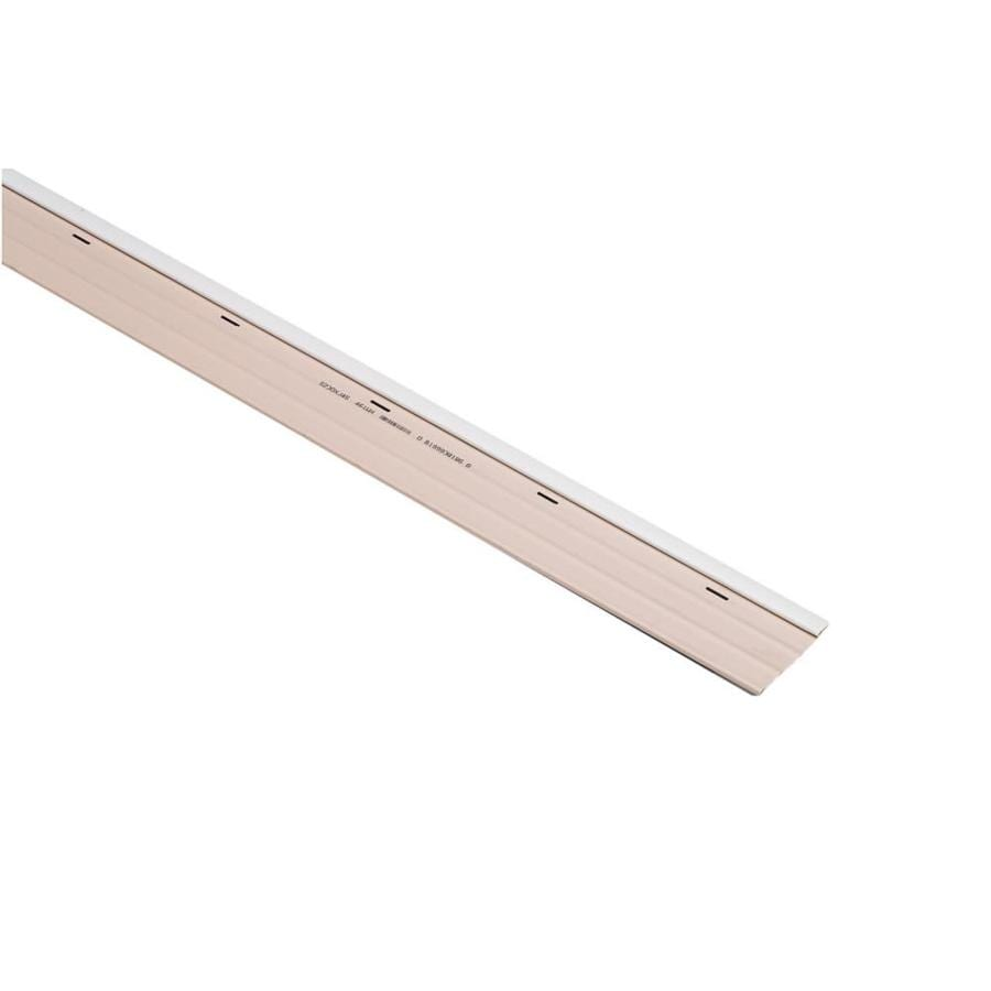4-in x 7.9791-ft White Vinyl Top Rail Skirting Trim