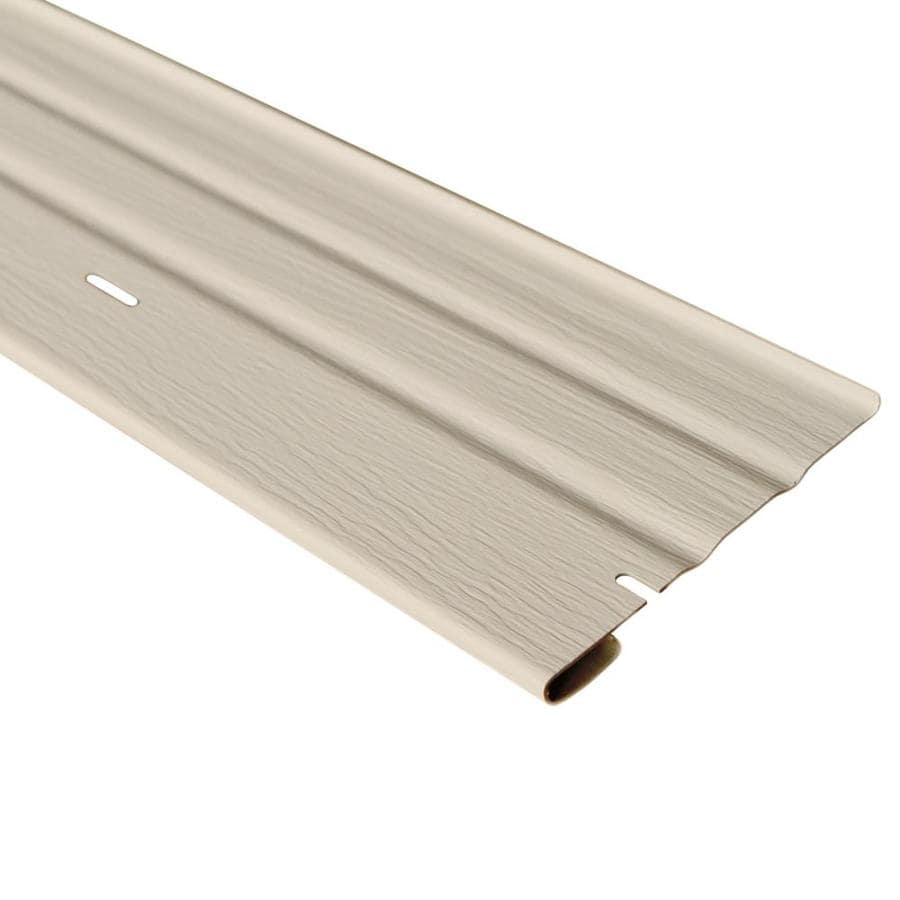 4.58-in x 7.9791-ft Tan Vinyl Top Rail Skirting Trim