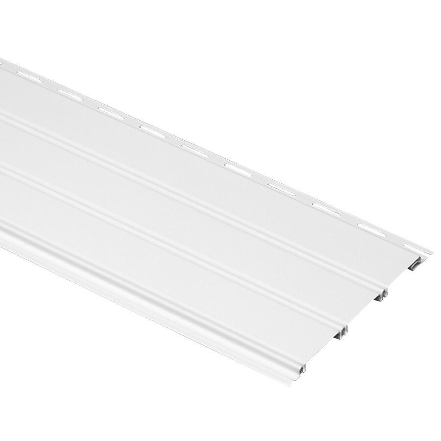 10-in x 144-in White Soffit