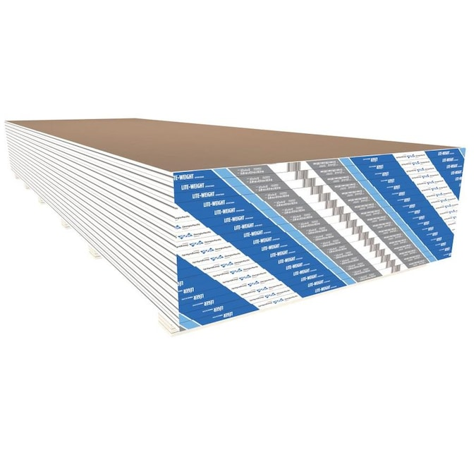 Toughrock Common 1 2 In X 4 Ft X 10 Ft Actual 0 49 In X 3 99 Ft X 9 99 Ft Drywall Panel In The Drywall Panels Department At Lowes Com