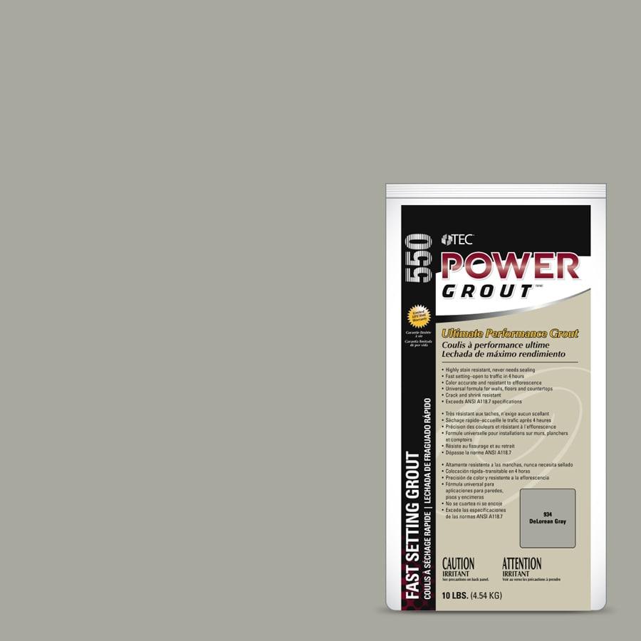 Tec 10 Lb Delorean Gray Sanded Unsanded Powder Grout