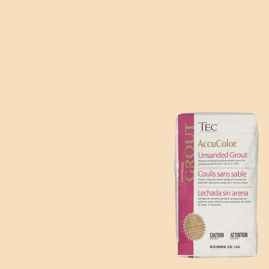 TEC Cornsilk Unsanded Powder Grout