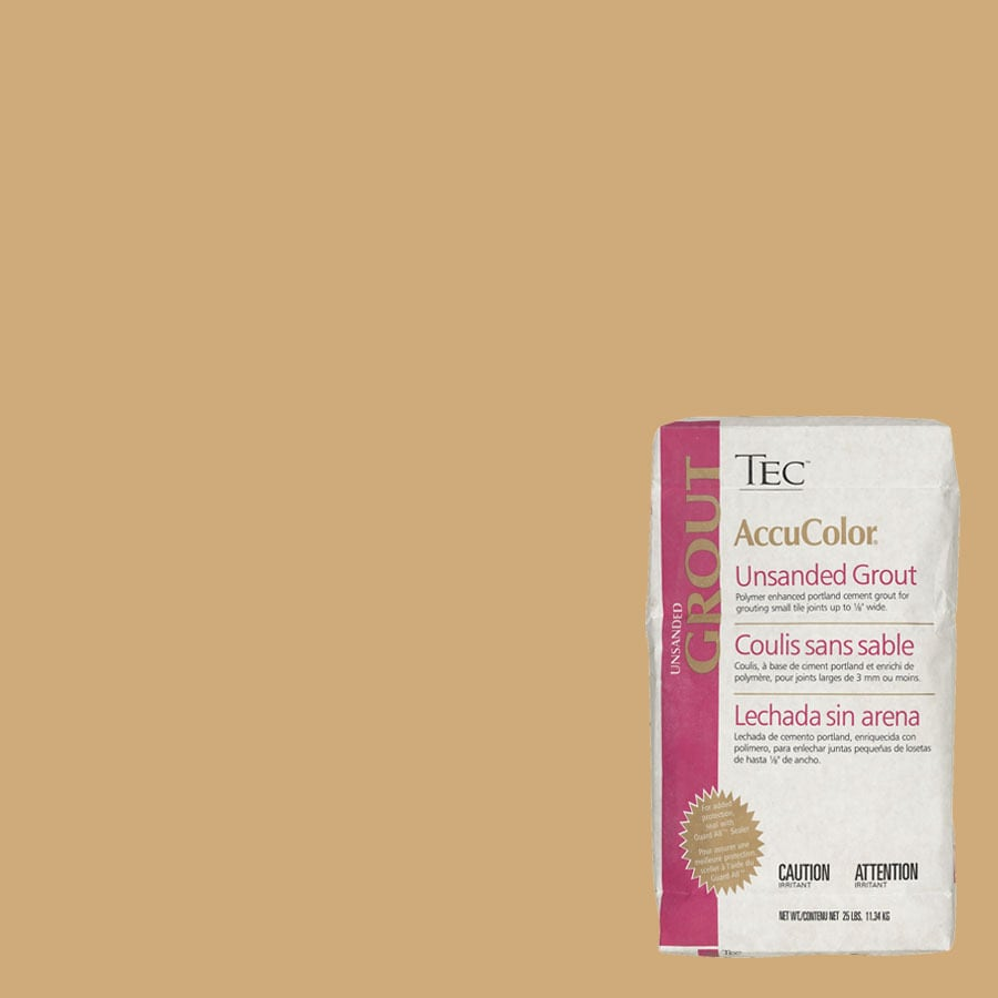 TEC Almond Unsanded Powder Grout