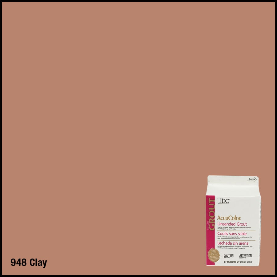 TEC 9.75 lbs Clay Unsanded Powder Grout