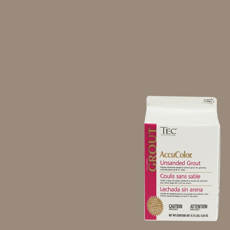 TEC Warm Taupe Unsanded Powder Grout