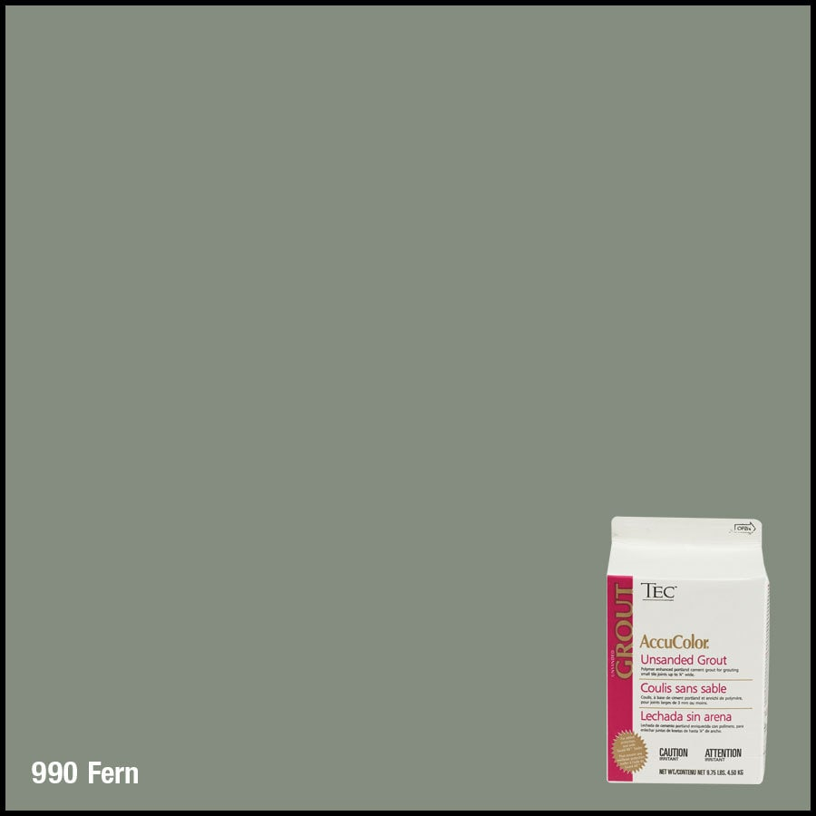 TEC 9.75 lbs Fern Unsanded Powder Grout