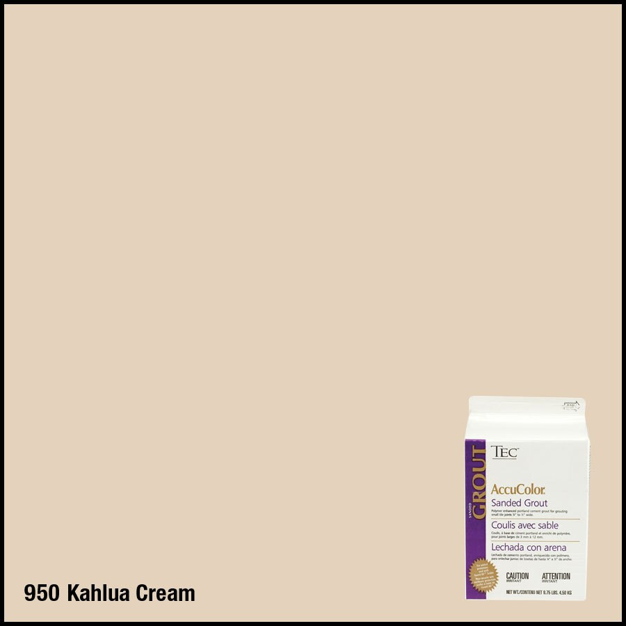TEC 9.75 lbs Kahlua Cream Sanded Powder Grout