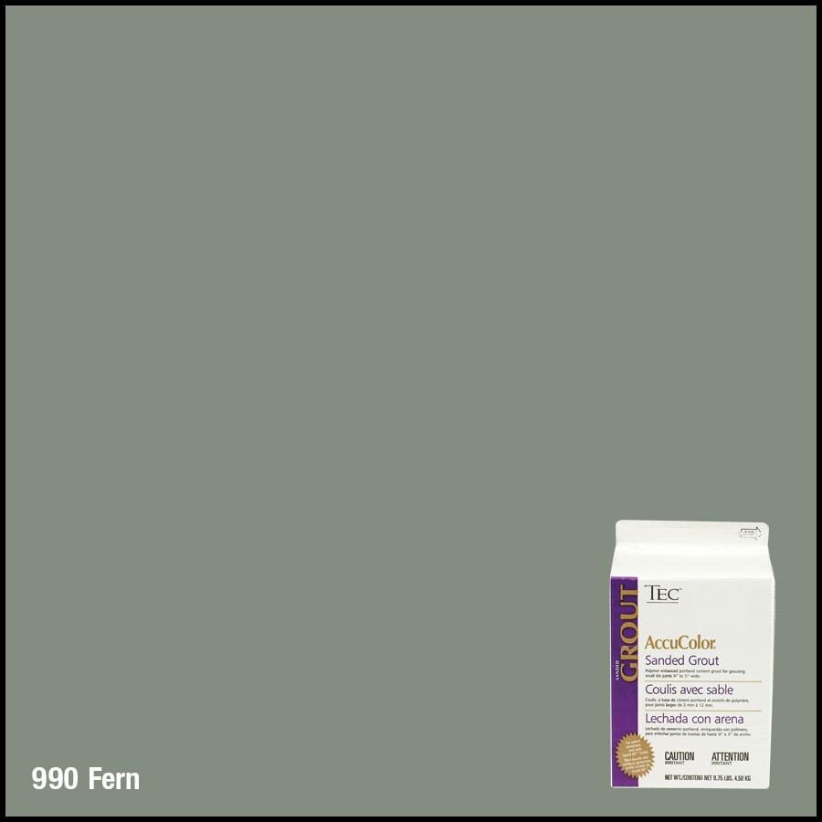 TEC 9.75 lbs Fern Sanded Powder Grout
