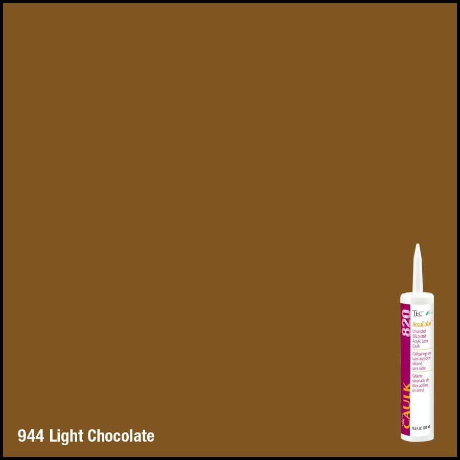 TEC -Pack Light Chocolate  Paintable Caulk