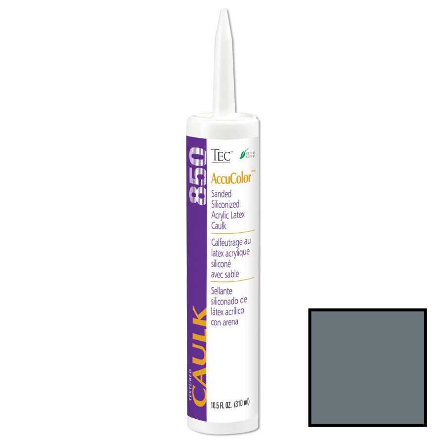 TEC -Pack Charcoal Gray Sanded Paintable Caulk