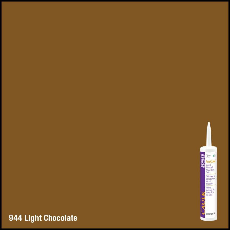 TEC -Pack Light Chocolate Sanded Paintable Caulk