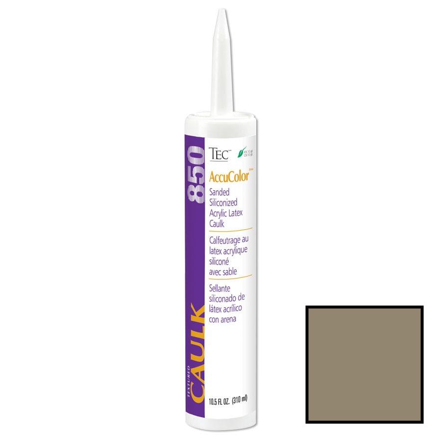 TEC Mocha Sanded Paintable Latex Specialty Caulk