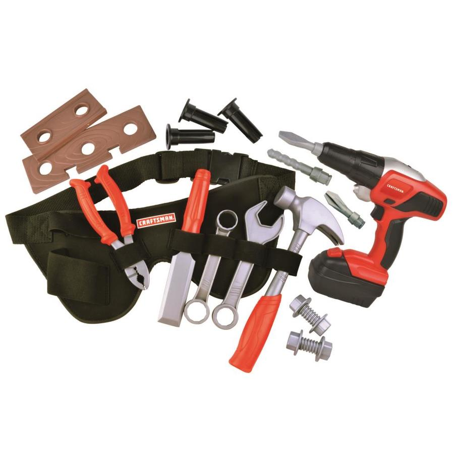craftsman toy tool belt drill and tools at. Black Bedroom Furniture Sets. Home Design Ideas