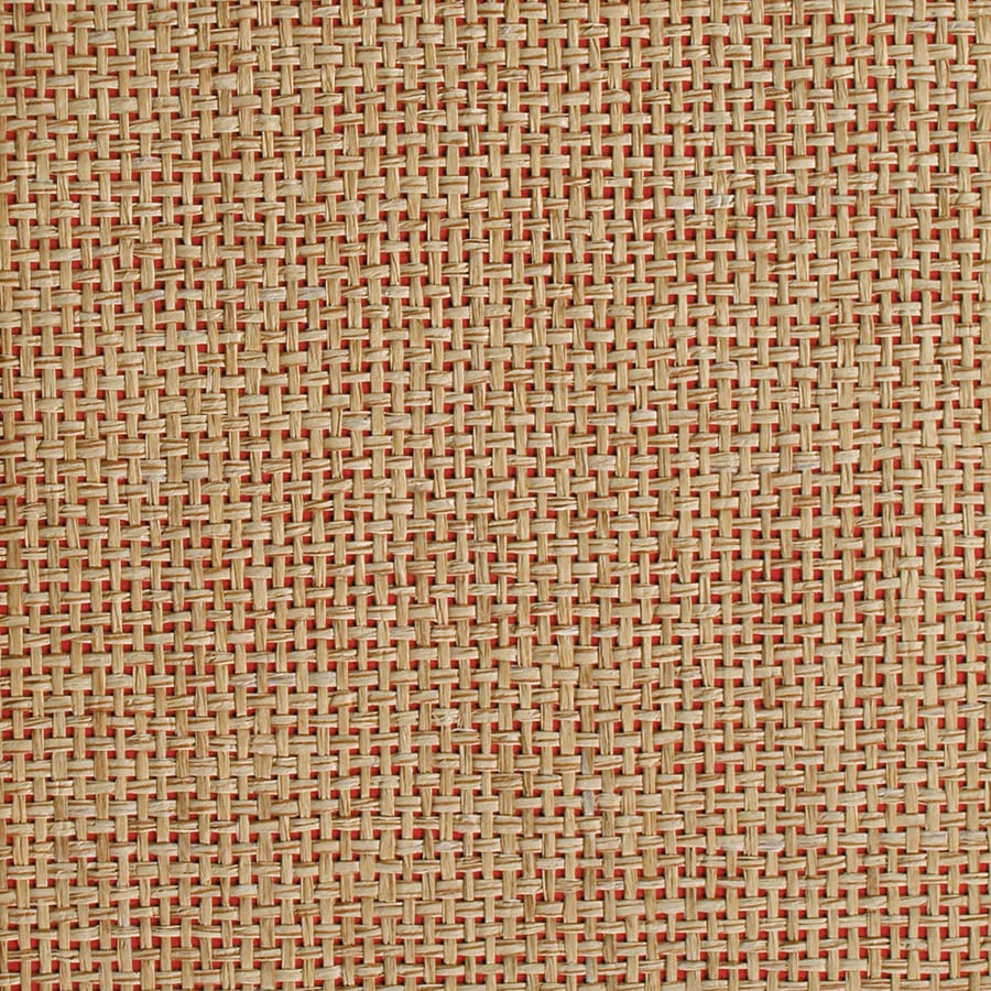 Red Grasscloth Wallpaper: Allen + Roth Red Grasscloth Unpasted Textured Wallpaper At