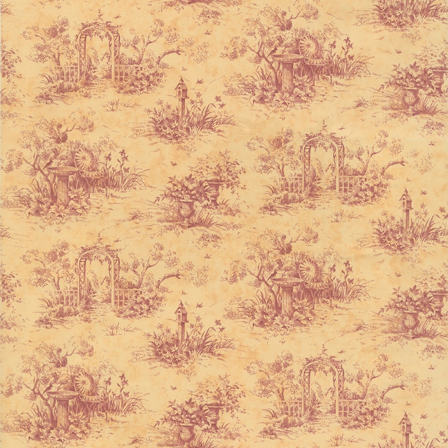 Waverly Country Toile Wallpaper at Lowes.com