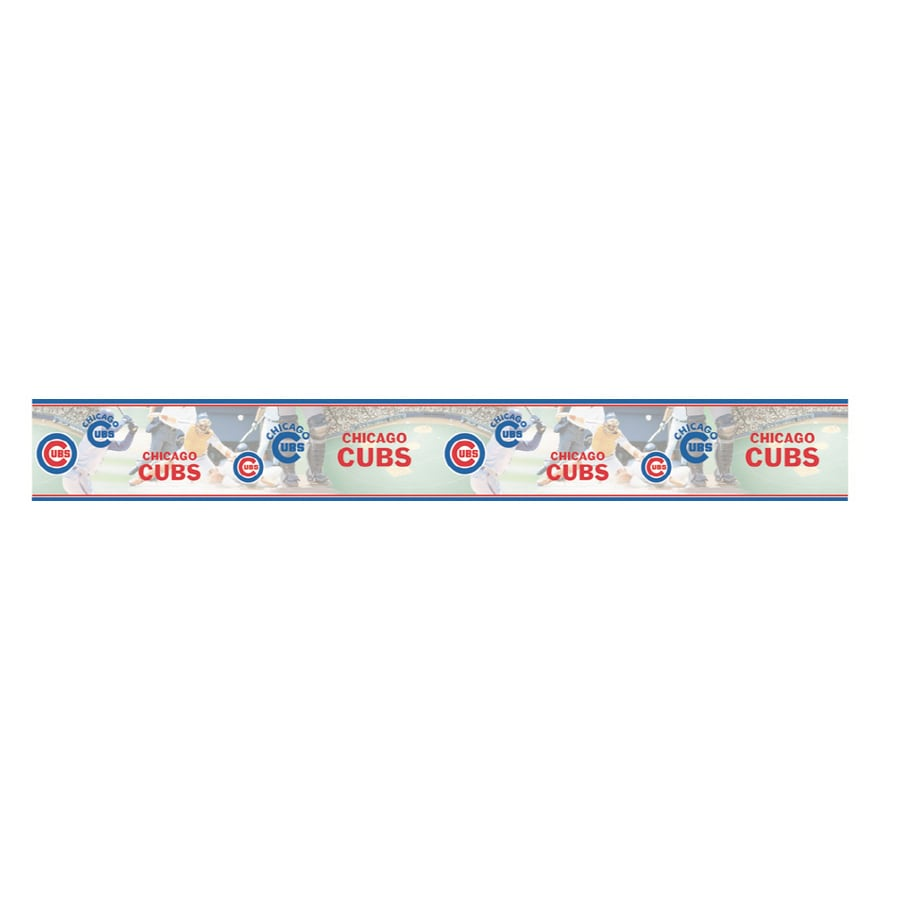 Village Chicago Cubs Wallpaper Border