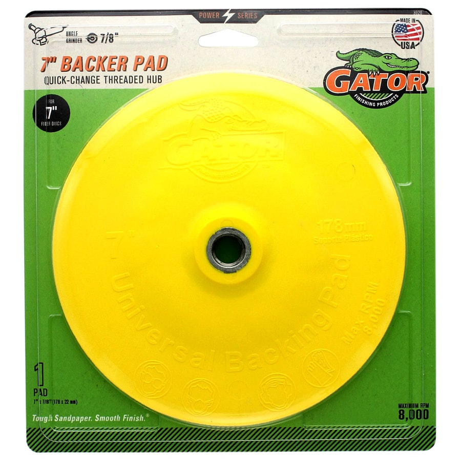 Gator Quick Change Fiber Disc Backer Pad