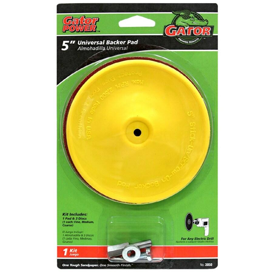 Gator 5-In Stick-On Sanding Disc Kit