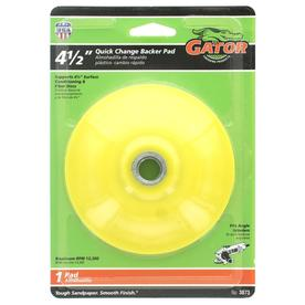 Gator Aluminum Oxide 5-in Sanding Wheel at Lowes com