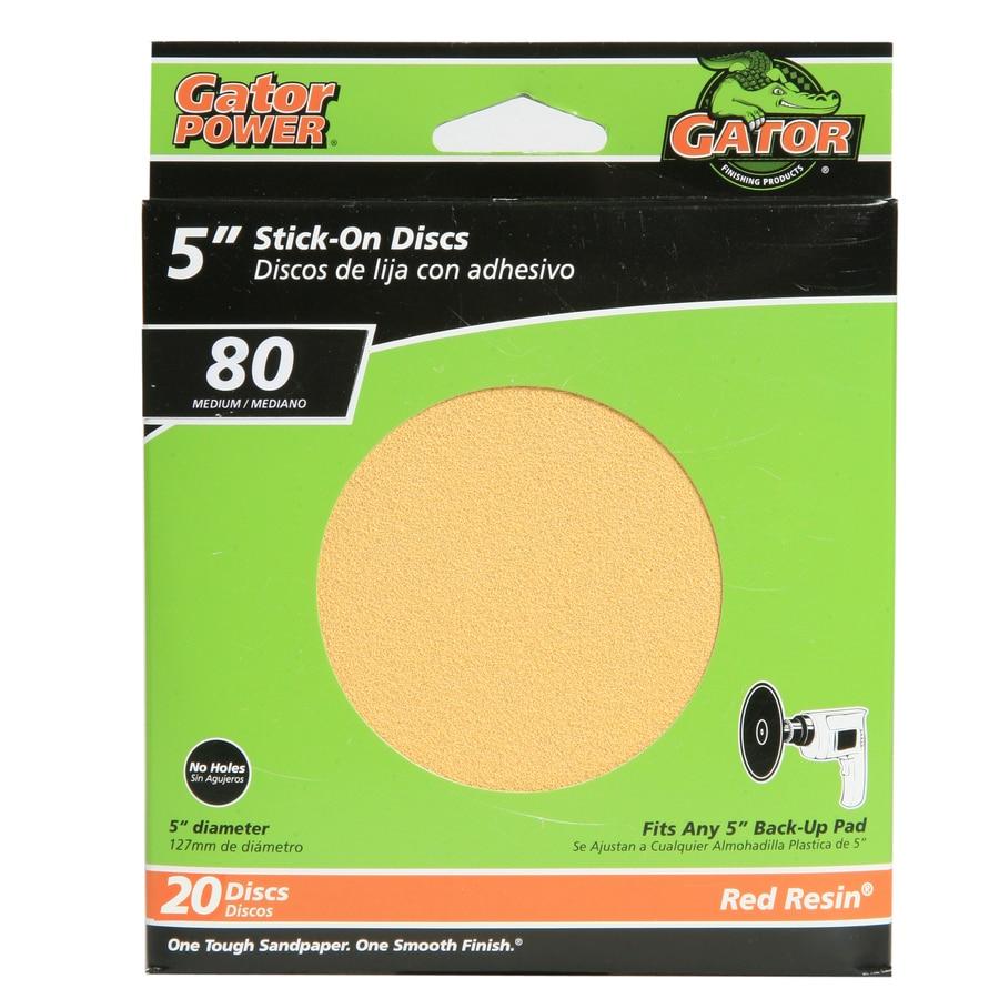 Gator Sanding Disc 20 Pack 5 In W X L 80