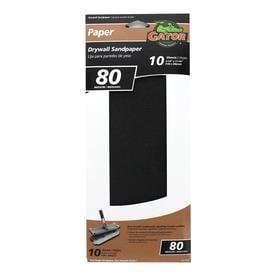 Gator Precut Drywall Sandpaper 10-Pack 4 25-in W x 11 25-in