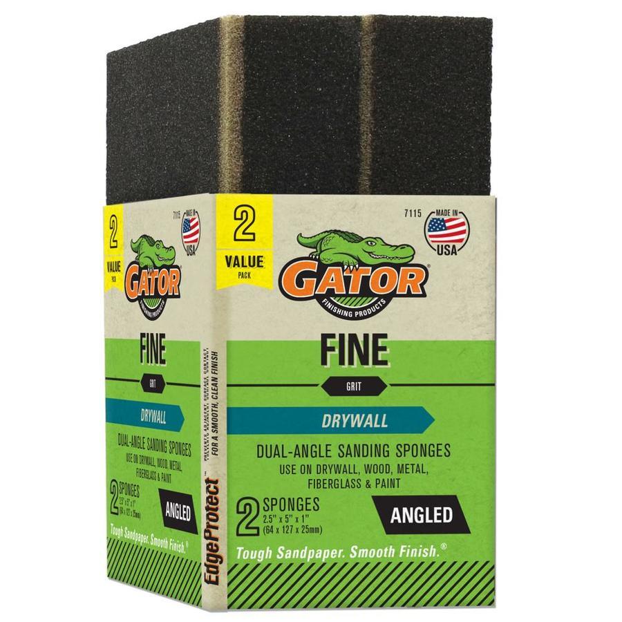 Gator 2-Pack 2.93-in x 1-in 120-Grit Commercial Sanding Sponge