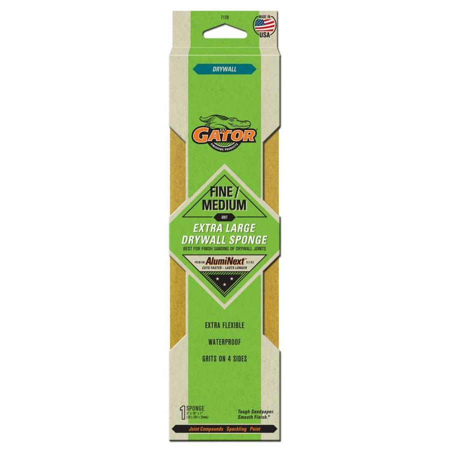 Gator 10-in x 3-in Multi-grade Pack-Grit Commercial Sanding Sponge