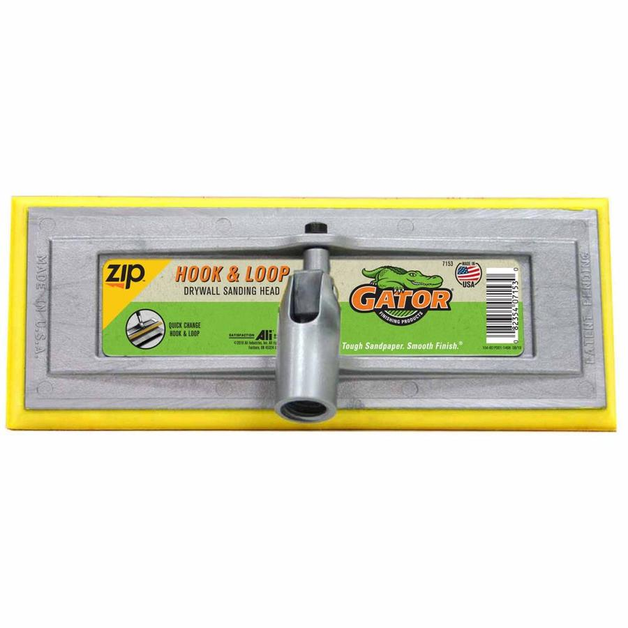 Gator 3.75-in x 10-in Drywall Hook and Loop Pole Head Hand Sander