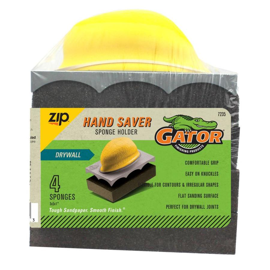 Gator 3.13-in x 5.13-in Drywall Sanding Sponge Holder Hand Sander