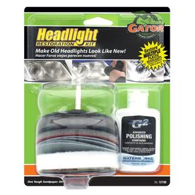 Gator 3.1-in Headlight Restoration Kit