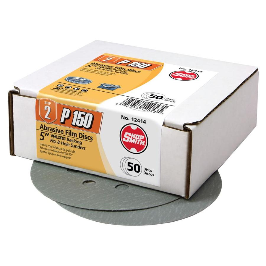 Shopsmith 50 Pack 5-in Diameter 150-Grit Commercial Sanding Disc