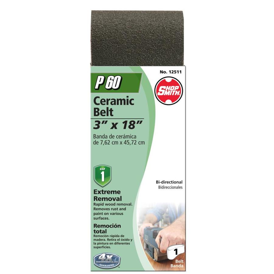 Shopsmith 3-in W x 18-in L 60-Grit Commercial Sanding Belt Sandpaper